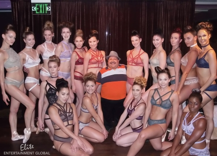 Cantiq LA Fashion Show Models with Chuy Bravo