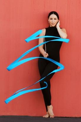 Cirque Mode Rhythmic Gymnast by Elite Entertainment Global